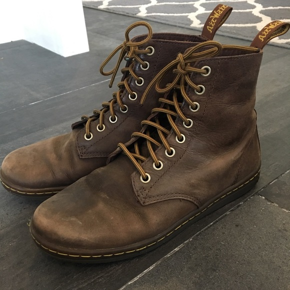 c7582ea4b5cbe Dr. Martens Other - DR. MARTENS Tobias Brown Leather Lace Up Boots